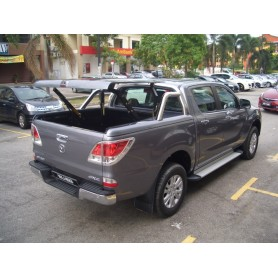 "Cover Benne ""Multi-positions"" - roll stainless bar for MAZDA BT50 2012 Double Cabin"