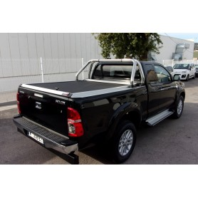 Cover Benne Rideau Slide Without Arceau Toyota Hilux Vigo in Extra Cabin from 2012 to 2015
