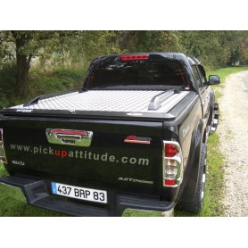 Aluminium dumpster cover for D-Max Crew Cabin before 2012