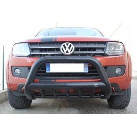 Pare Buffle Noir avec 5 Griffes pour Volkswagen Amarok