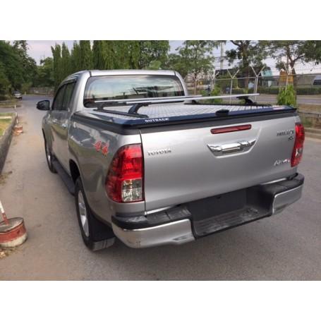 Couvre tonneau aluminium outback double cabine Toyota Hilux Revo à partir 2016