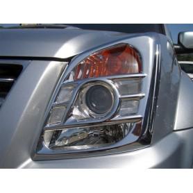 Kit chrome phares et feux chromés pour D-Max avant 2012
