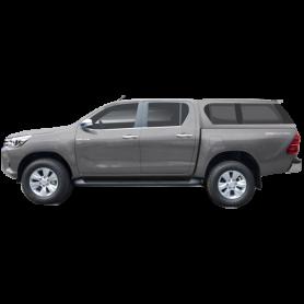 Hard Top Luxe Type E Vitré Toyota Hilux Revo en Double Cabine à partir de 2016