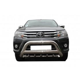 Pare buffle inox avec griffes pour Toyota Hilux Revo à partir 2016