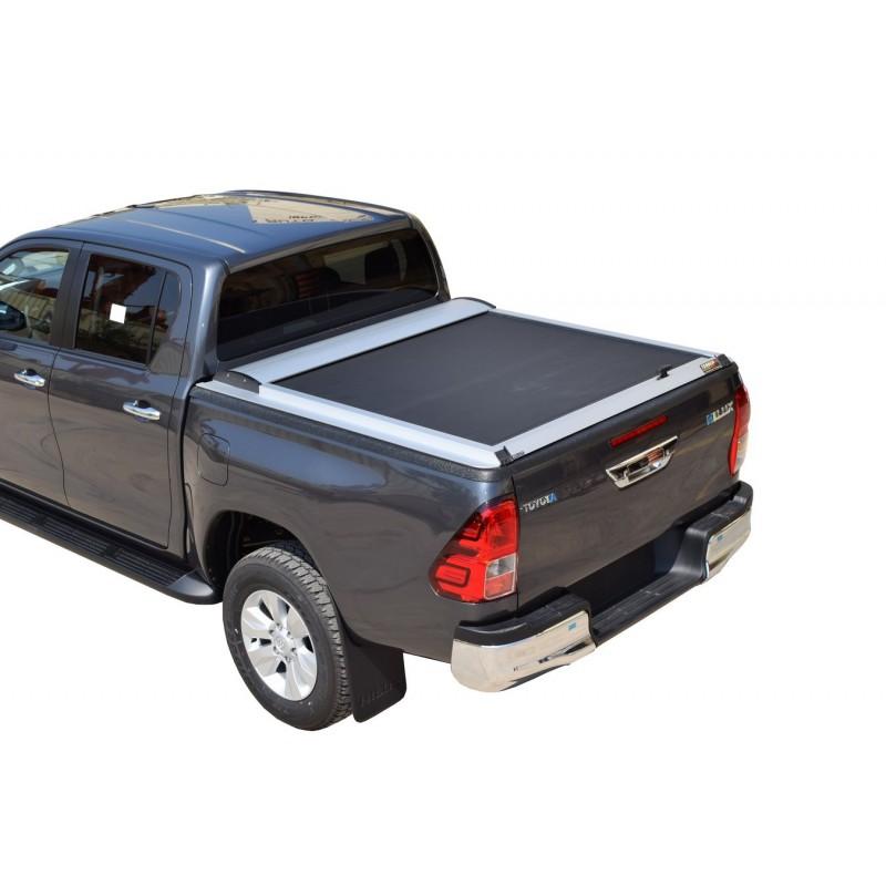 Rideau coulissant pour Toyota Hilux Revo double cabine