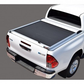 Rideau coulissant pour Toyota Hilux Revo Extra cabine 2016