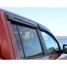 Kit de 4 déflecteurs d'air Noir pour Volkswagen Amarok