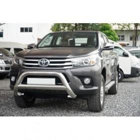 Pare buffle inox sans griffes pour Toyota Hilux Revo à partir 2016