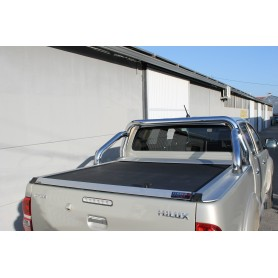 Slide Curtain Without Arceau Toyota Hilux Vigo Invincible in Double Cabin from 2012 to 2015
