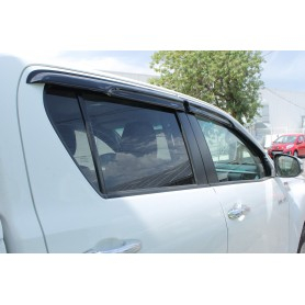 Toyota Hilux Revo Double Cabin Door Deflectors from 2016
