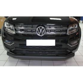 Volkswagen V6 black front bumper