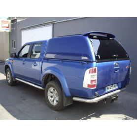 Hard Top Un Vitré SJS Commercial Ranger - Double Cab from 2007 to 2011