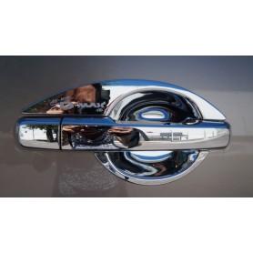 Chrome door handle hubcap kit 2012