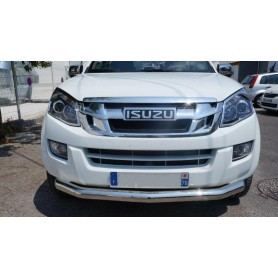Stainless front bumper embellishment