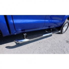 Stainless steel D Max electric running board - Crew Cabin from 2012
