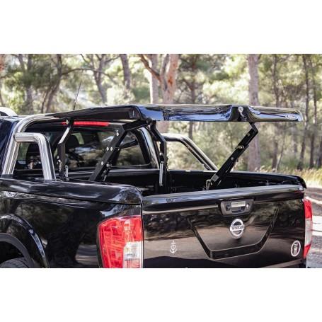 Couvre Benne livre avec roll bar inox pour Nissan NP300