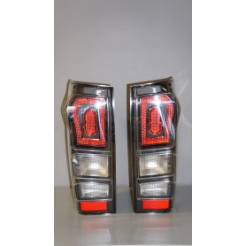 """Crystal"" taillight kit - Isuzu D-MAX 2012 LED"