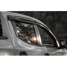 Air deflectors for L200 Triton and L200 MY20 double cabin from 2016