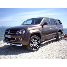 Stainless Steel Front Bumper Protection Amarok