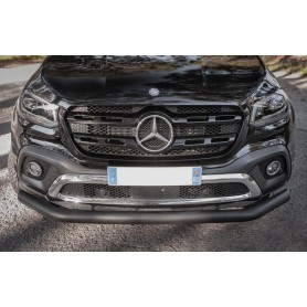Black Front Shock Pare Jewel For Mercedes X-Class