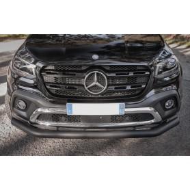 Enjoliveur de Pare Choc Avant Noir Pour Mercedes Classe X