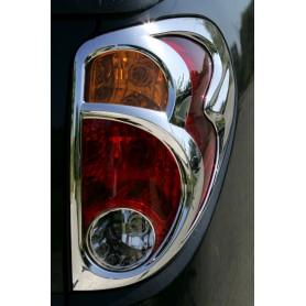Chrome Kit 2 headlight embellishments - 2 Taillight embellishments