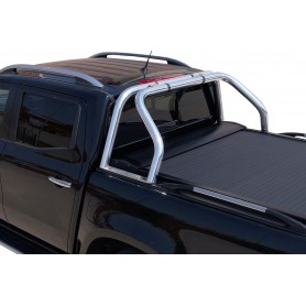 Roll bar Inox pour Rideau Coulissant