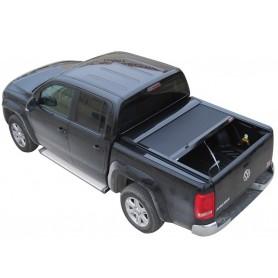 Volkswagen Amarok Black Sliding Curtain
