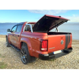 Cover Benne Classic Amarok Compatible Roll Bar Inox - Double Cabin