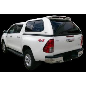 Hard Top Prestige SJS vitré centralisé Toyota Hilux Revo Extra Cabine à partir de 2016
