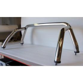 Roll bar Inox pour Rideau Coulissant Toyota Hilux Vigo de 2005 à 2015