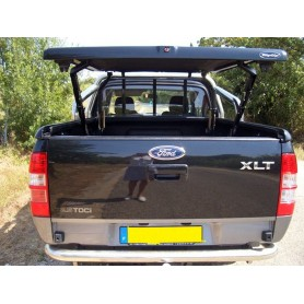 "Couvre Benne ""Multi-positions"" pour Super Cabine compatible avec le roll bar d'origine FORD"