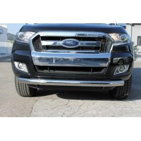 Tube Protection Inox Pare Choc Avant - Ford Ranger