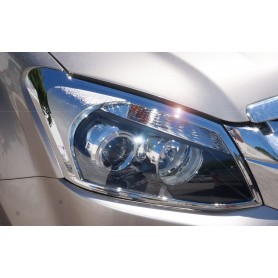 2012 headlight and chrome light embellishment kit