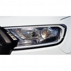 Enjoliveurs De Phares A LED Ford Ranger 2016+