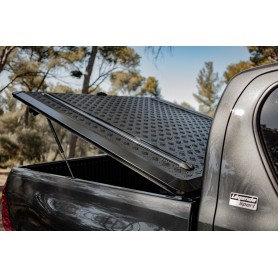 Couvre Benne Aluminium Noir Hilux - Double Cabine - à partir de 2016