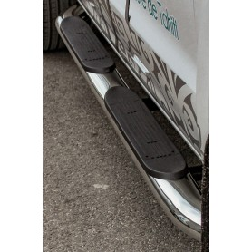 Ford Ranger T6 stainless steel footwork set