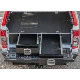 Benne Box Ranger 2 Drawers Alu Ranger Double Cabin