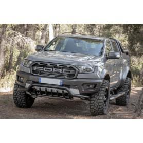 Tube Protection Pare Choc Avant Ford Ranger - Noir - à partir de 2012