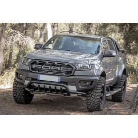 Tube Protection Pare Shock Before Ford Ranger - Black - from 2012