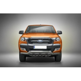 Ford Ranger Protective Tube With Claws - Inox - from 2012