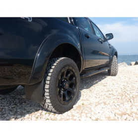 Fender Flares Slim Ford Ranger Double and Super Cabin from 2016 to early 2019