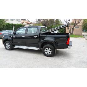 Couvre tonneau alu Double Cab Toyota Hilux Vigo de 2005 à 2015