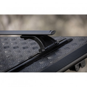 Black Sliding Bars for Hard Top SJS Fleet Runner Covers Benne Alu