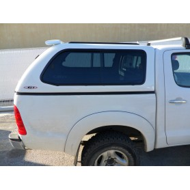 Hard Top Prestige SJS glass Toyota Hilux in Double Cabin from 2005 to 2015