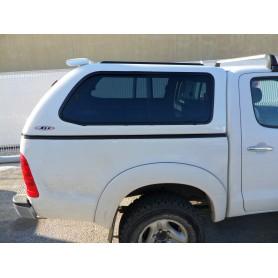 Hard Top Prestige SJS vitré Toyota Hilux en Double Cabine de 2005 à 2015