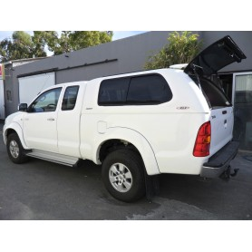 Hard Top Prestige SJS glass-glazed Toyota Hilux in Extra Cabin from 2005 to 2015