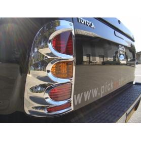 Kit enjoliveurs de phares et de feux chromés pour Toyota Hilux Vigo modèles de 2005 à 2015