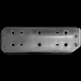 Alu 5 mm Bridge Transmission L200 protection from 2016