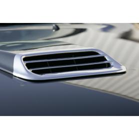 Enjoliveur de capot prise d'air chromé Toyota Hilux Vigo de 2015 à 2015